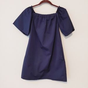 Zara blue blouse with side pockets. Size small
